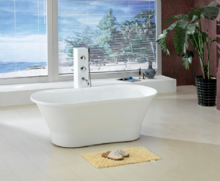 Sloop free standing bath 1700 x 790mm